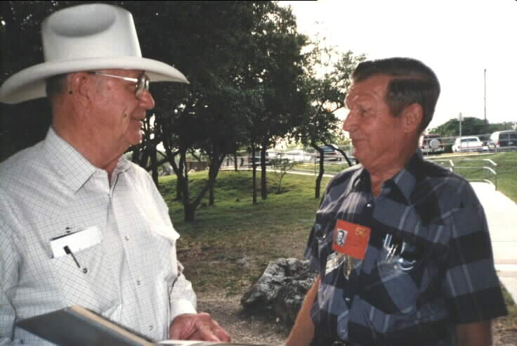 Stanley Bergstrom and Ellis Winkler 50th. Reunion in May of 1999